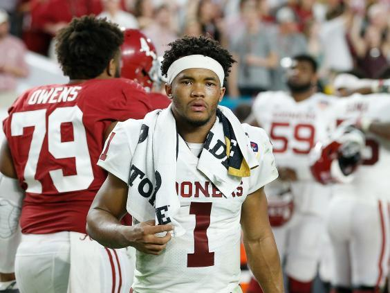 Kyler Murray of the Oklahoma Sooners is expected to be picked first off the board (Getty)