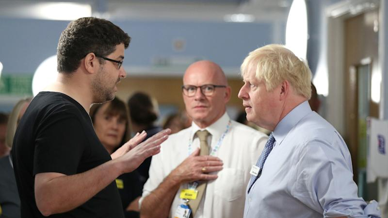 Father who confronted PM over NHS says daughter is doing better