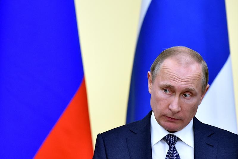 """The Kremlin says the leak of the""""Panama Papers"""" tax documents is an attack aimed primarily at Russian President Vladimir Putin"""