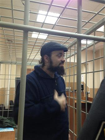 Greenpeace International activist Alexandre Paul of Canada attends a bail hearing at the Murmansk Regional Court, in this Greenpeace handout picture on October 18, 2013. REUTERS/Greenpeace/Handout via Reuters