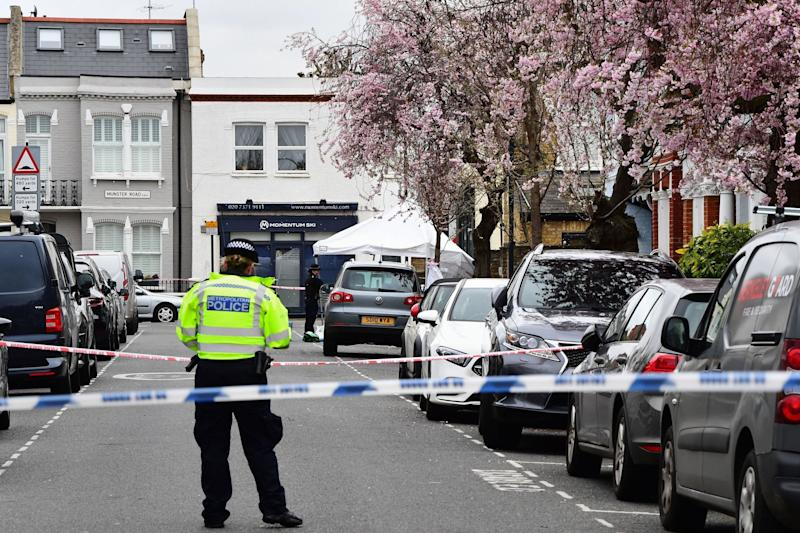 A murder investigation has been launched after the man's death in Fulham (PA)