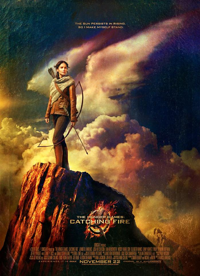 """Jennifer Lawrence in Lionsgate's """"The Hunger Games: Catching Fire"""" - 2013"""