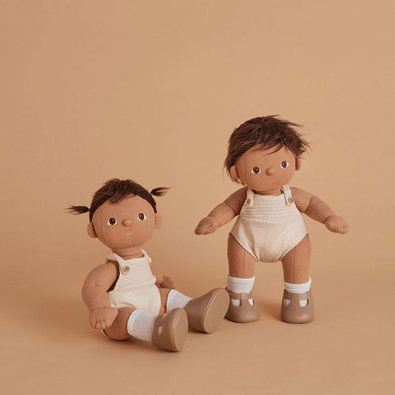 <p>These sweet <span>Dinkum Dolls</span> ($68) are available in six different skin tones and hair colors.</p>