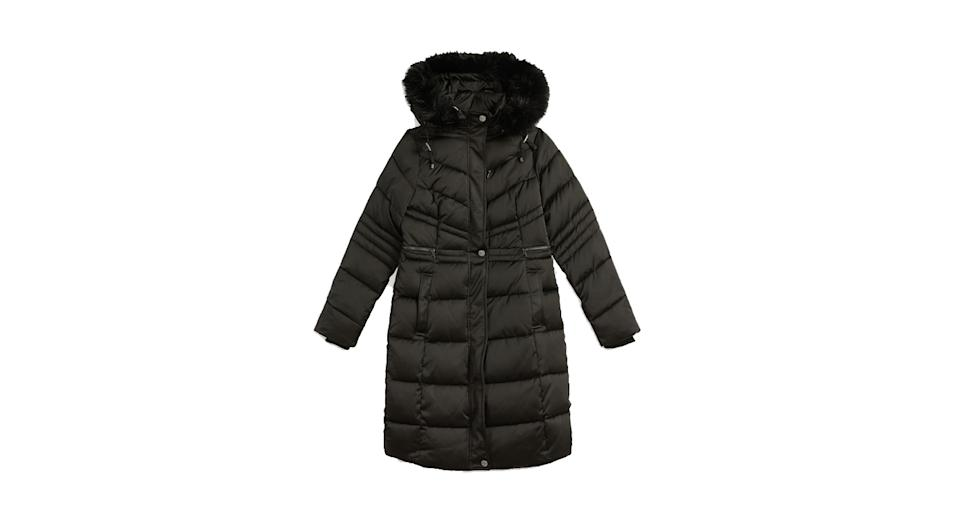 Samira Long Belted Padded Coat