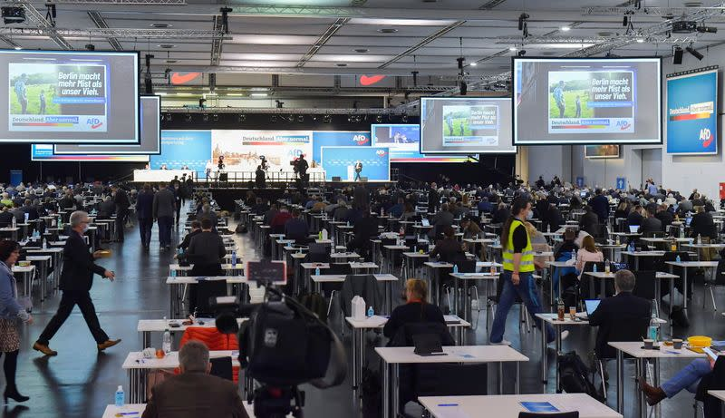 Aternative for Germany (AfD) holds party congress in Dresden