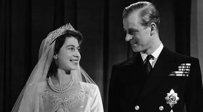 Prince Philip and Queen Elizabeth were married for 73 years. The Duke of Edinburgh died Friday morning at 99. (Image via Getty Images)