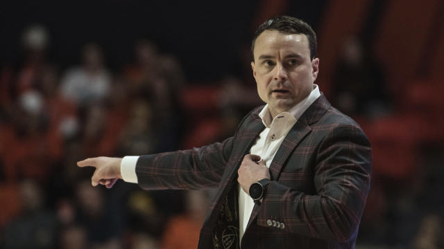 Indiana Head Coach Archie Miller on the sideline against Illinois in the first half of an NCAA college basketball game Sunday, Mar. 1, 2020, in Champaign, Ill. (AP Photo/Holly Hart)