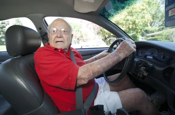 100 Year Old Driver