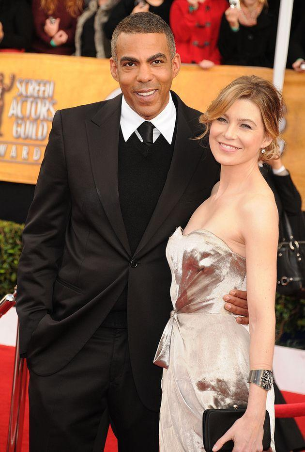 Ellen Pompeo and Chris Ivery in 2008 in Los Angeles. (Photo: Jeff Kravitz via Getty Images)