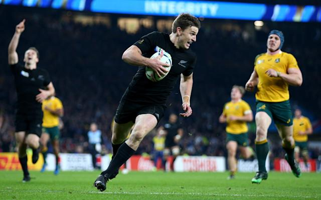 Exclusive interview: How barefoot rugby on a farm made Beauden Barrett an All Black star