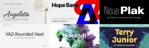 The New Typefaces You May Have Missed from the Monotype Library
