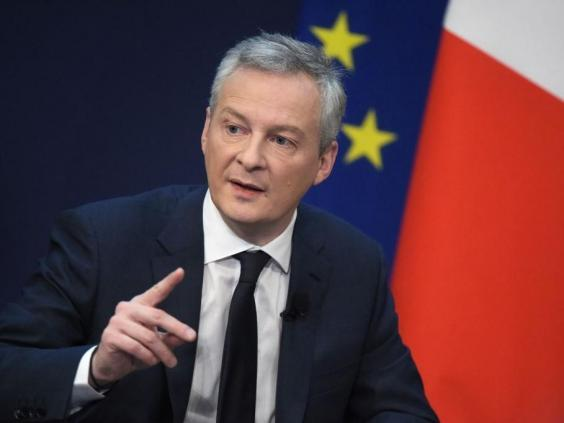 French Economy and Finance Minister Bruno Le Maire said it was 'out of the question' that Libra becomes a sovereign currency (AFP/Getty Images)