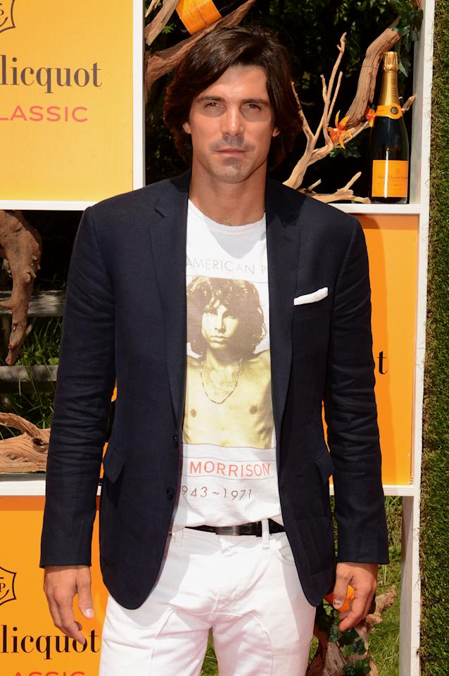 JERSEY CITY, NJ - JUNE 02:  Host, model and polo player Nacho Figueras attends the fifth annual Veuve Clicquot Polo Classic on June 2, 2012 in Jersey City.  (Photo by Andrew H. Walker/Getty Images for Veuve Clicquot Polo Classic)