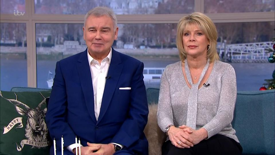 Eamonn Holmes and Ruth Langsford (Photo: ITV/Shutterstock)
