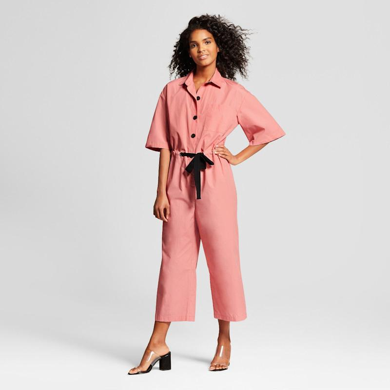 This $36 Jumpsuit is Making Me Rethink Baby Pink
