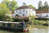 """<p>Perched in the charming town of Kintbury, this 18th century Grade II listed inn is an idyllic retreat for a weekend by the river. The <a href=""""https://www.redonline.co.uk/travel/inspiration/g503337/six-of-the-best-gastro-pubs-with-rooms/"""" rel=""""nofollow noopener"""" target=""""_blank"""" data-ylk=""""slk:pub with rooms"""" class=""""link rapid-noclick-resp"""">pub with rooms</a> has just eight rooms decorated in a gorgeous country house style. </p><p>Many of the bedrooms come with their own private terrace overlooking the canal, where you can sit back and enjoy breakfast the next morning or a sundowner in the early evening. Bliss! </p><p><a class=""""link rapid-noclick-resp"""" href=""""https://go.redirectingat.com?id=127X1599956&url=https%3A%2F%2Fwww.booking.com%2Fhotel%2Fgb%2Fthe-dundas-arms.en-gb.html%3Faid%3D2070929%26label%3Dweekend-trips-from-london&sref=https%3A%2F%2Fwww.redonline.co.uk%2Ftravel%2Finspiration%2Fg28744371%2Fweekend-trips-from-london%2F"""" rel=""""nofollow noopener"""" target=""""_blank"""" data-ylk=""""slk:CHECK AVAILABILITY"""">CHECK AVAILABILITY</a> <br></p>"""