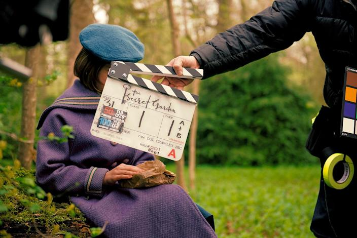 Exclusive behind-the-scenes look at <em>The Secret Garden</em>, which comes to cinemas and Sky Cinema across the UK and Ireland on 23 October. (Sky Cinema)