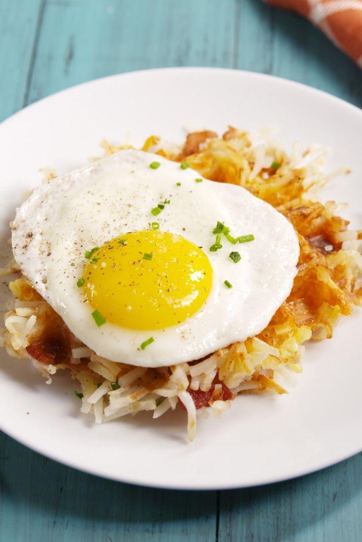 """<p>You've never had hash browns this epic.</p><p>Get the recipe from <a href=""""/cooking/recipe-ideas/recipes/a49194/loaded-hashbrown-waffles-recipe/"""" data-ylk=""""slk:Delish"""" class=""""link rapid-noclick-resp"""">Delish</a>.</p>"""