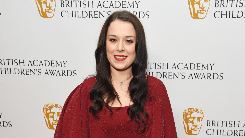 Dani Harmer attends The British Academy Children's Awards 2018. (Photo by David M. Benett/Getty Images)