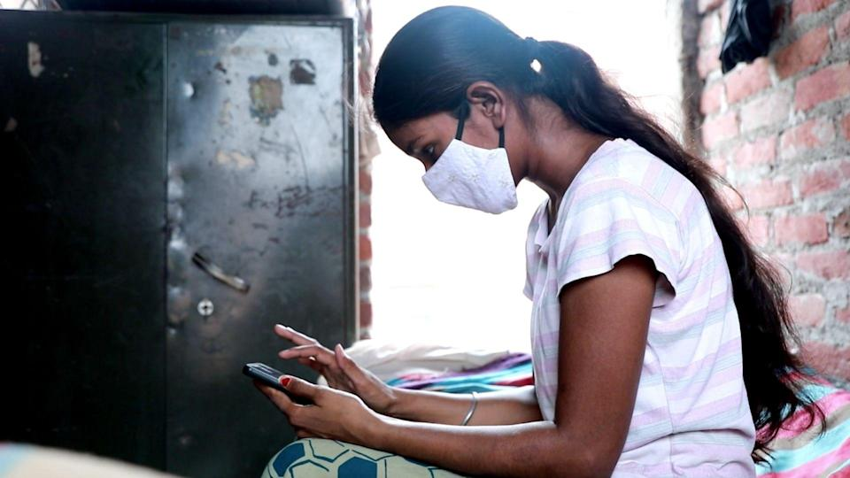 Sapna Kumari, a second year BCom student, fears that the eviction will force her to drop out of college.