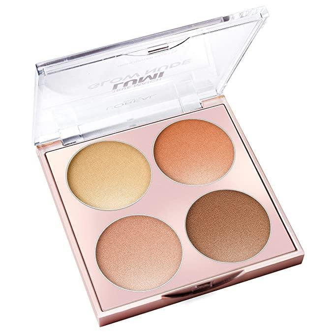 <p>The <span>L'Oreal Paris Makeup True Match Lumi Glow Nude Highlighter Palette</span> ($12) is the perfect highlighting palette for all your sun-kissed glow needs. It even comes in a cool-toned pink shade.</p>