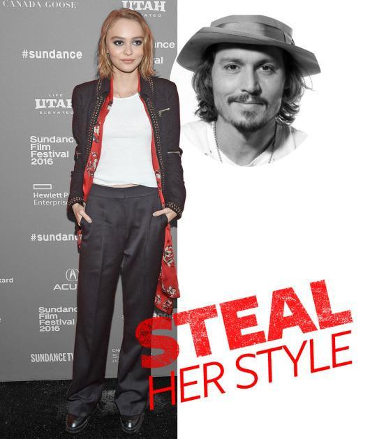 <p>Johnny Depp and Vanessa Paradis's little girl was practically born to be a style icon—and the wide-eyed teenage star is well on her way to securing that title. At just 16, Lily-Rose Depp has already walked for Chanel Couture and snagged a campaign for the French fashion house, and now, she's making her acting debut in <i>Yoga Hosers</i>—which showed at Sundance this past Sunday.</p>