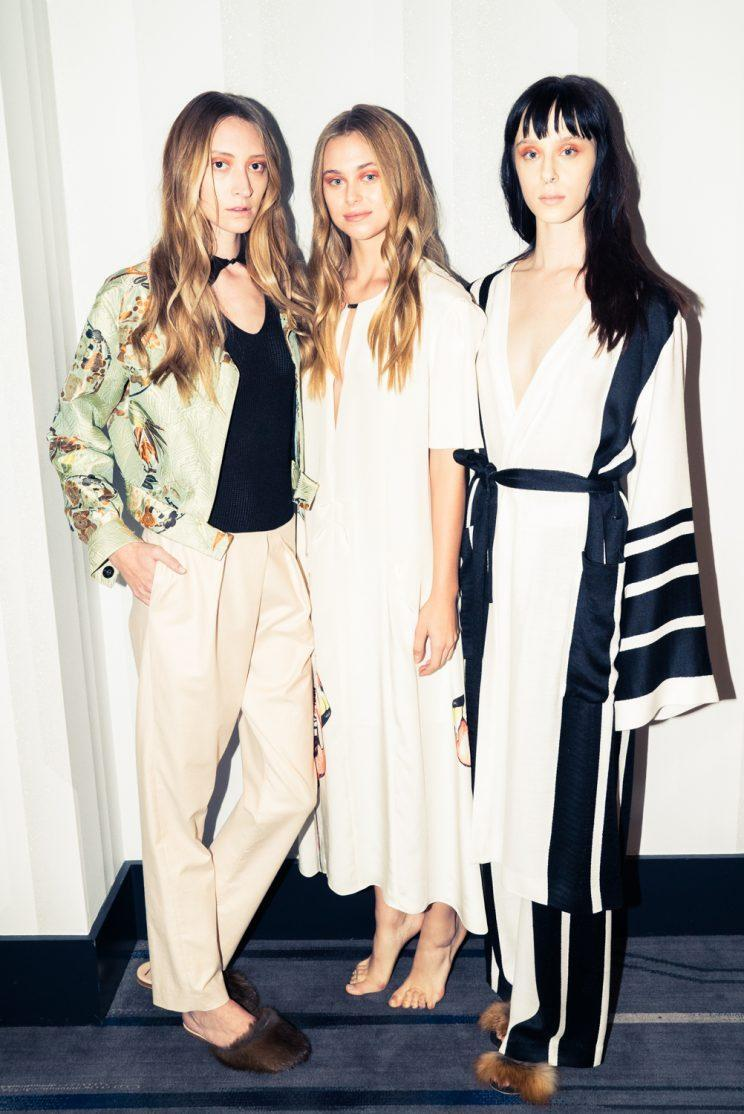 Models wear Haus Alkire's designs at the W/CFDA Showcase in Dallas. (Photo: Courtesy of CFDA + W Hotels)