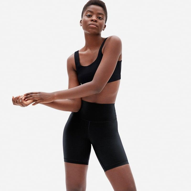 """<h2>Bike Shorts </h2><br>There's no denying that bike shorts are iconic for everyone, regardless of sexuality or gender identity. But nothing exudes a stronger queer vibe than the combo of a big T-shirt (like the one in the previous slide) and these essential black bike shorts.<br><br><em>Shop <strong><a href=""""https://www.everlane.com"""" rel=""""nofollow noopener"""" target=""""_blank"""" data-ylk=""""slk:Everlane"""" class=""""link rapid-noclick-resp"""">Everlane</a></strong></em><br><br><strong>Everlane</strong> The Perform Bike Short, $, available at <a href=""""https://go.skimresources.com/?id=30283X879131&url=https%3A%2F%2Fwww.everlane.com%2Fproducts%2Fwomens-perform-bike-short-black"""" rel=""""nofollow noopener"""" target=""""_blank"""" data-ylk=""""slk:Everlane"""" class=""""link rapid-noclick-resp"""">Everlane</a>"""