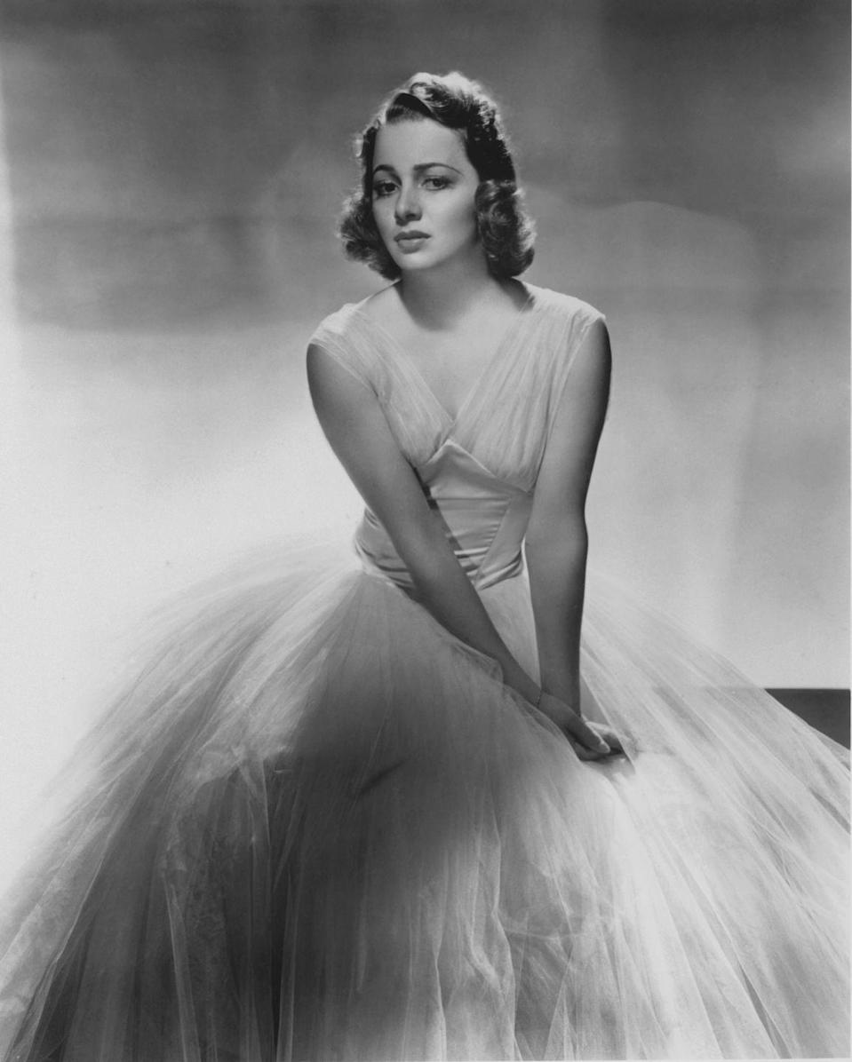 <p>A stunning portrait of the Old Hollywood star in 1938. </p>
