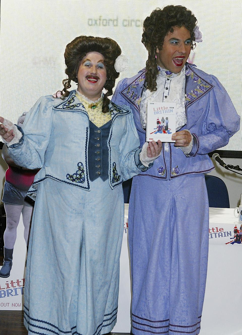 Matt Lucas and David Walliams played ethnic minority characters on their shows as well as members of other marginalised groups. (Photo by Jo Hale/Getty Images)