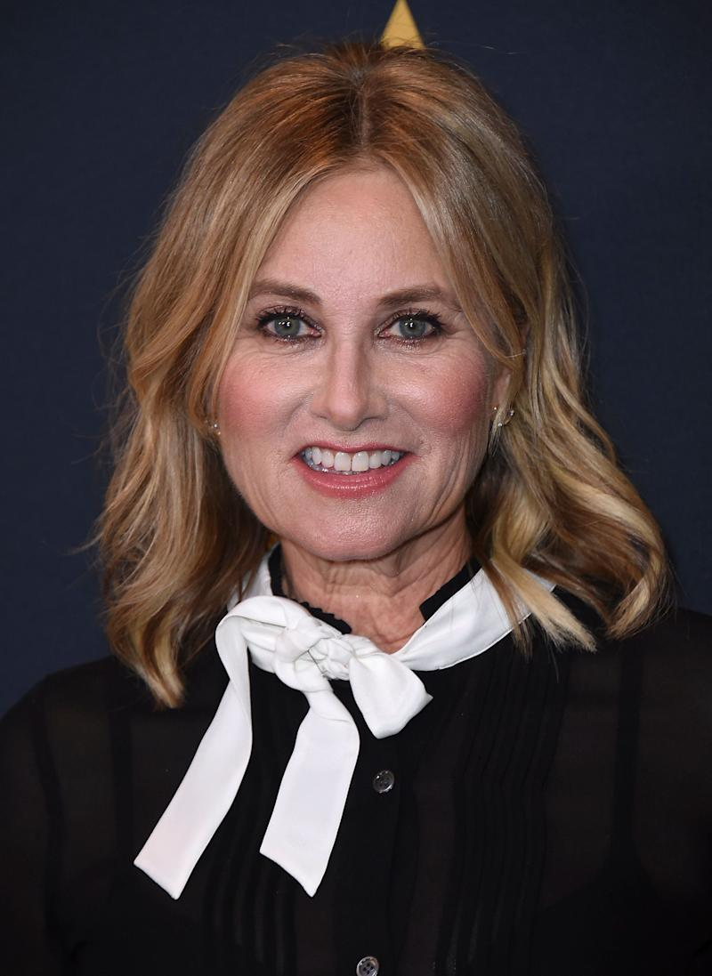 Maureen McCormick arrives at the Richard Donner Tribute on Wednesday, June 7, 2017 in Beverly Hills, Calif. (Photo by Jordan Strauss/Invision/AP)