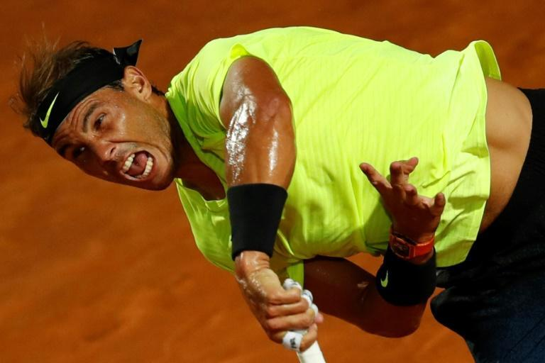 Spain's Rafael Nadal has won a record nine titles in Rome