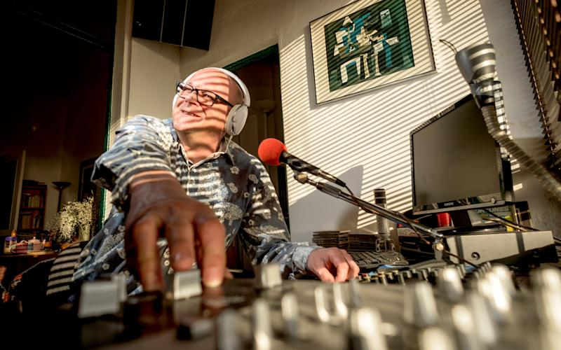 Mark Dezzani, a Radio Caroline DJ from Crawley, West Sussex - Credit: Andrew Hasson
