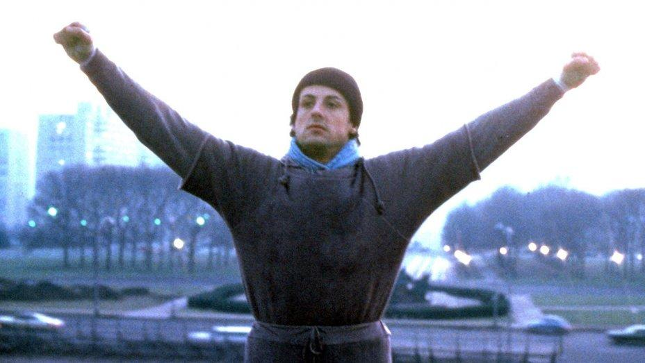 Sylvester Stallone first portrayed Rocky Balboa in 1976. (Credit: MGM)