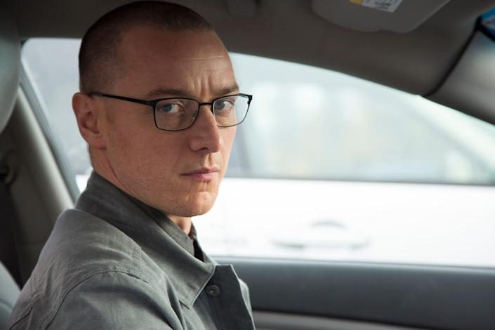 """James McAvoy stars as a dangerous man with multiple personalities in M. Night Shyamalan's """"Split."""""""