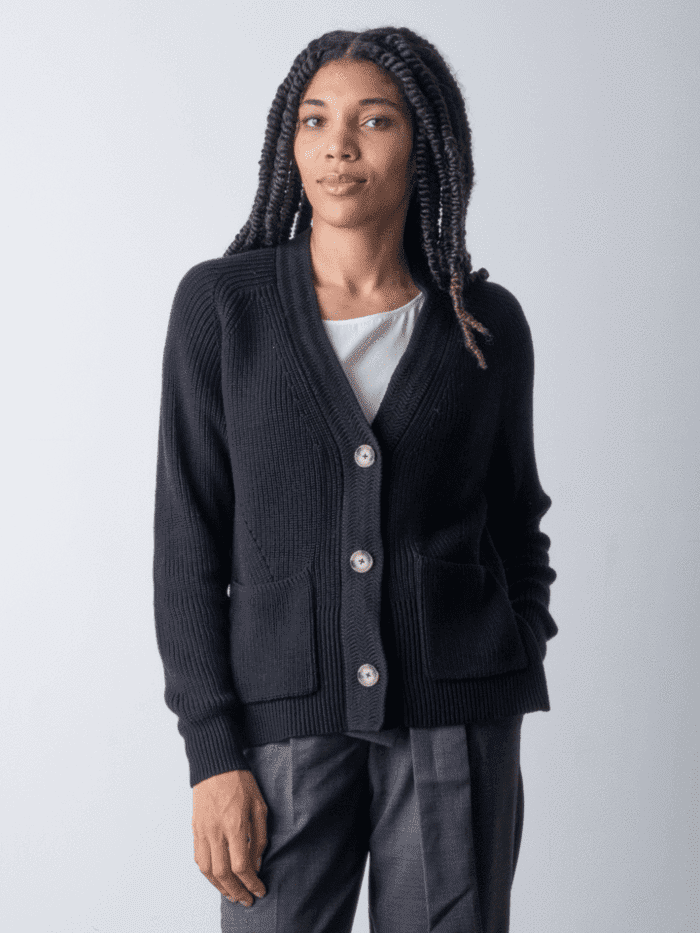 """<h2>The Classic Cardigan</h2><br>When we think of the classic cardigan: we think of a style that's a bit boxy; we think of a style that's comfortably loose but not overly oversized; we think of a style that's soft enough to snuggle in; we think of a style where going shirtless underneath is an achievable option.<br><br><strong>Margaret O'Leary</strong> CAROLINE BOXY CARDIGAN, $, available at <a href=""""https://go.skimresources.com/?id=30283X879131&url=https%3A%2F%2Fwww.margaretoleary.com%2Fproducts%2Fcaroline-boxy-cardigan-1"""" rel=""""nofollow noopener"""" target=""""_blank"""" data-ylk=""""slk:Margaret O'Leary"""" class=""""link rapid-noclick-resp"""">Margaret O'Leary</a>"""