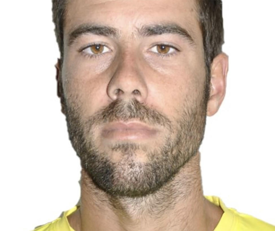 Tomas Gimeno is pictured.