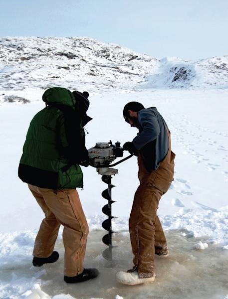 Researchers auger into a Greenland glacier to hunt for methane that may have been produced by Arctic microbes.