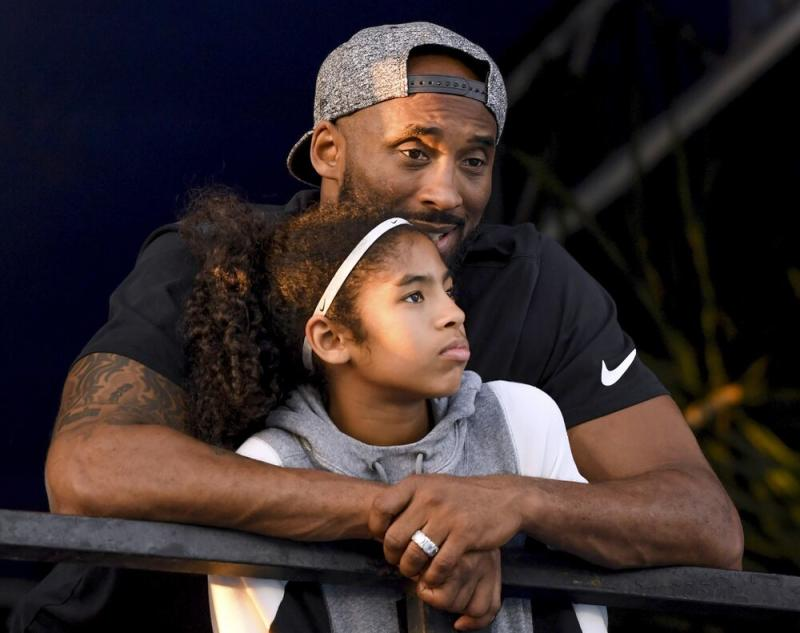Kobe Bryant and daughter Gianna Bryant | Harry How/Getty