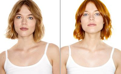 Before and After: Ginger Coloring Conditioner