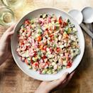 <p>A mix of cool, crunchy vegetables gives this healthy salad satisfying bite for a perfect potluck side.</p>