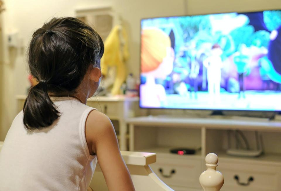 """<span class=""""caption"""">At critical developmental periods when young children are learning about themselves, others and the world, they are frequently seeing pain portrayed unrealistically in kids' TV shows and movies.</span> <span class=""""attribution""""><span class=""""source"""">(Shutterstock)</span></span>"""