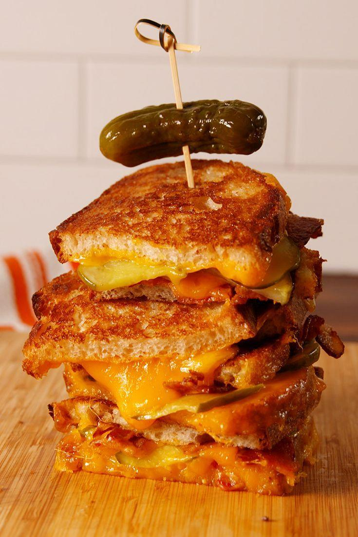 """<p>Why haven't we thought of this before?</p><p>Get the recipe from <a href=""""/cooking/recipe-ideas/recipes/a53716/pickle-bacon-grilled-cheese-recipe/"""" data-ylk=""""slk:Delish"""" class=""""link rapid-noclick-resp"""">Delish</a>.</p>"""