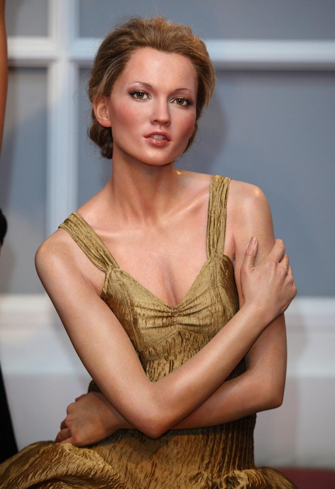 Kate Moss waxwork is unveiled to celebrate the start of London Fashion Week at Madame Tussauds on September 15, 2009 in London, England. Photo courtesy of Getty Images.