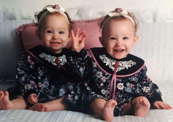 PHOTO: Alex and Jaci Hermstad are pictured at approximately 1-year-old, circa 1994. (Courtesy Lori Hermstad)