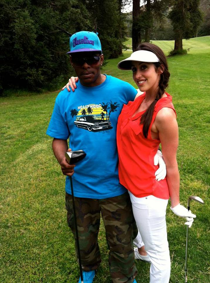 """Coolio and Catherine Reitman in VH1's """"Miss U Much."""""""