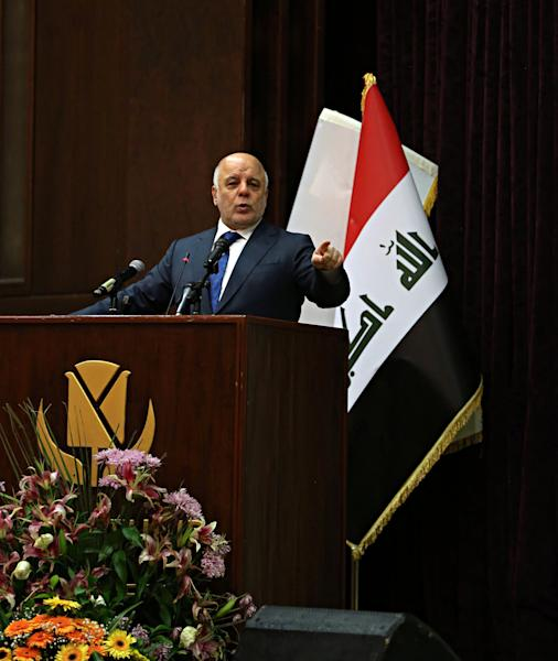 Iraq holds military parade celebrating victory over IS
