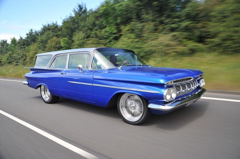 1959 Chevrolet Brookwood For Sale A Practical Lowrider