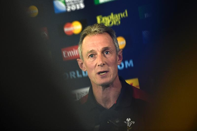 Wales' coach Rob Howley says his team were comfortable and were able to stretch South Africa during the match (AFP Photo/Loïc Venance)