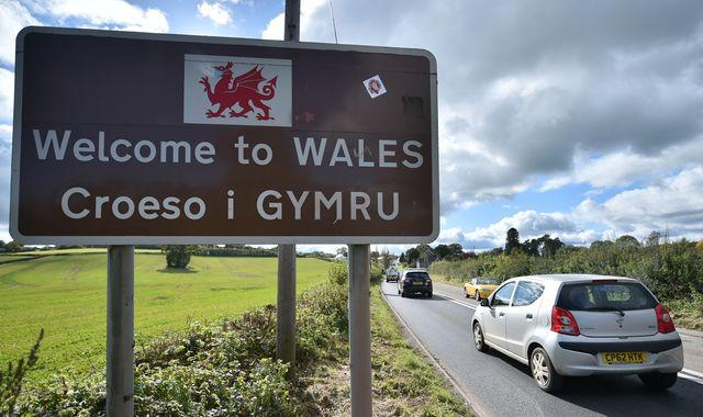 Coronavirus: Wales bans travellers from rest of UK's COVID hotspots - but police say move is 'unenforceable'